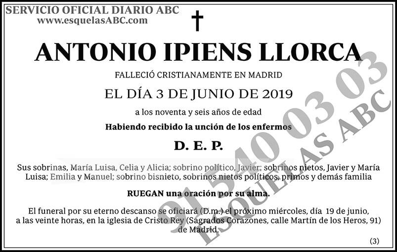 Antonio Ipiens Llorca