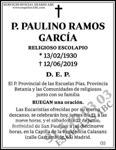 Paulino Ramos García