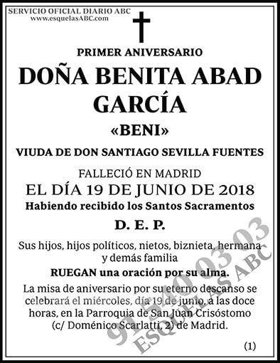 Benita Abad García