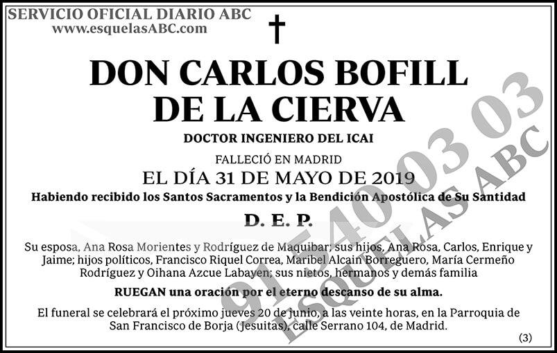 Carlos Bofill de la Cierva
