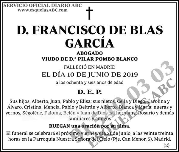 Francisco de Blas García