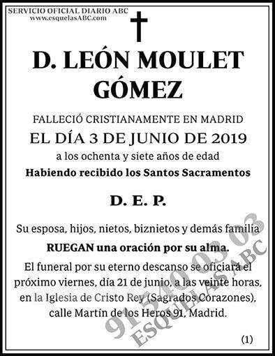 León Moulet Gómez