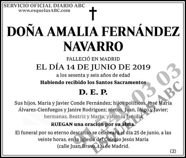 Amalia Fernández Navarro