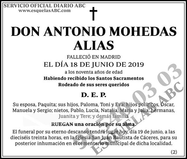 Antonio Mohedas Alias