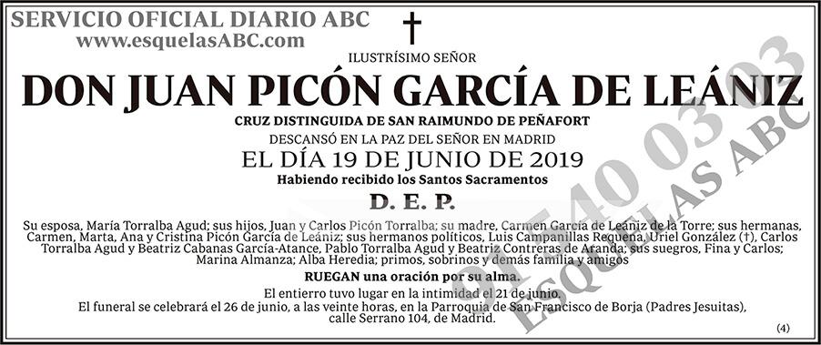Juan Picón García de Leániz