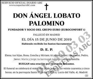 Ángel Lobato Palomino