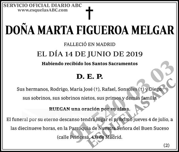 Marta Figueroa Melgar
