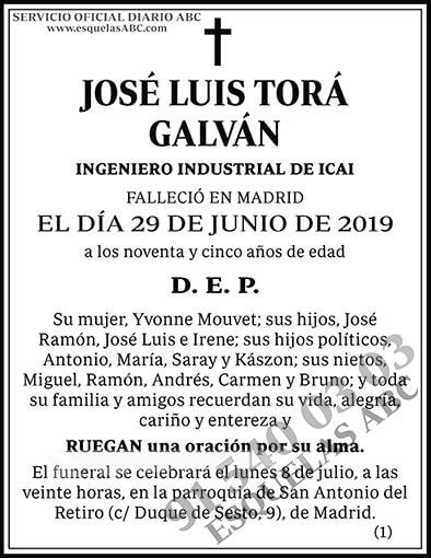 José Luis Torá Galván