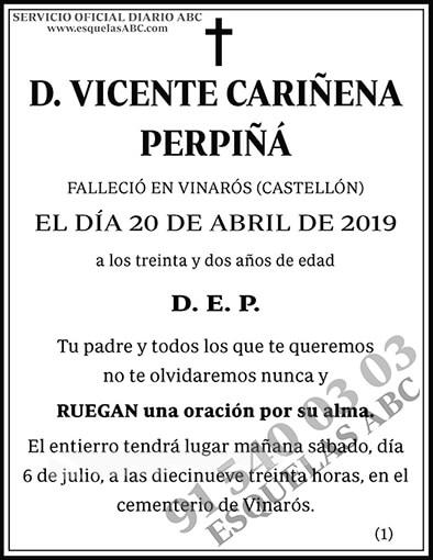 Vicente Cariñena Perpiñá