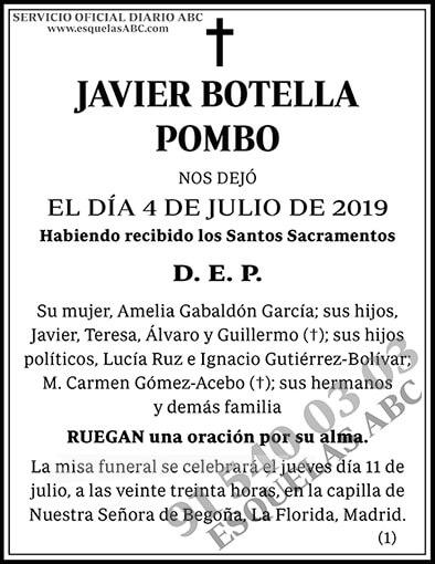 Javier Botella Pombo