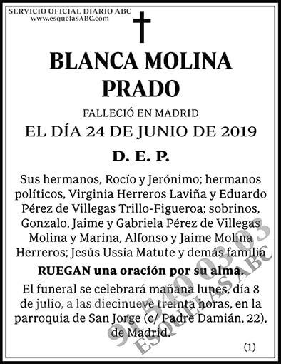 Blanca Molina Prado