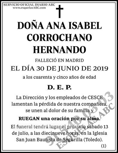 Ana Isabel Corrochano Hernando