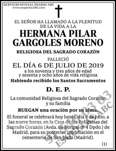 Pilar Gargoles Moreno
