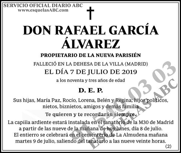 Rafael García Álvarez