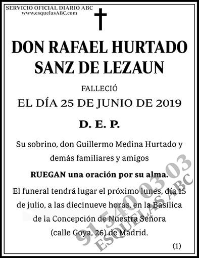Rafael Hurtado Sanz de Lezaun