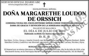 Margarethe Loudon de Orssich