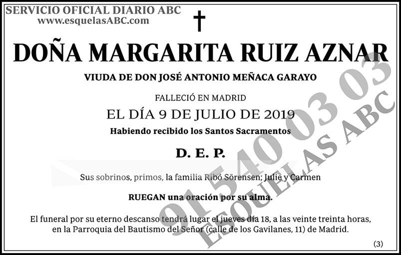 Margarita Ruiz Aznar