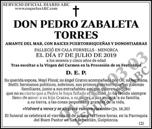 Pedro Zabaleta Torres