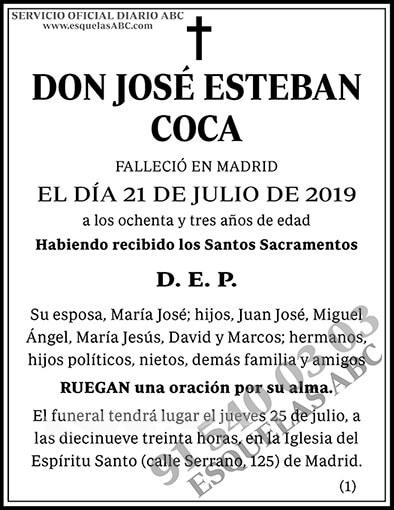 José Esteban Coca