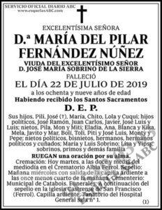 María del Pilar Fernández Núñez