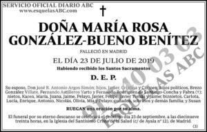 María Rosa González-Bueno Benítez
