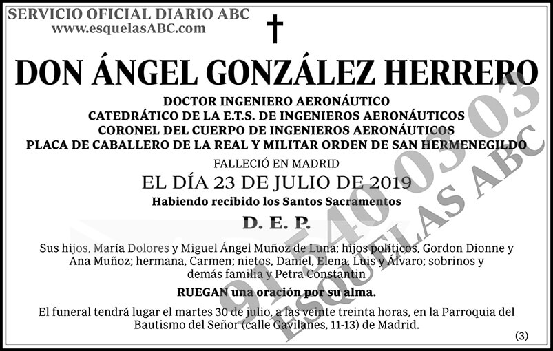 Ángel González Herrero