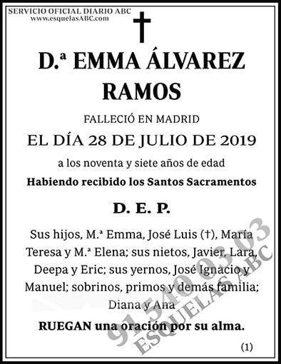 Emma Álvarez Ramos