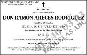 Ramón Areces Rodríguez