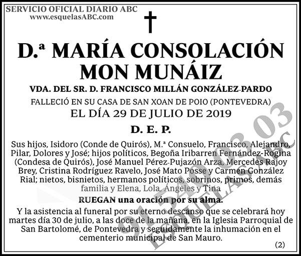 María Consolación Mon Munáiz