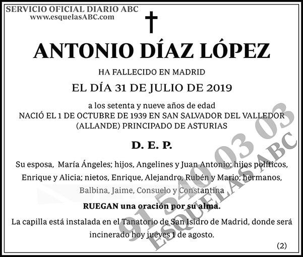 Antonio Díaz López