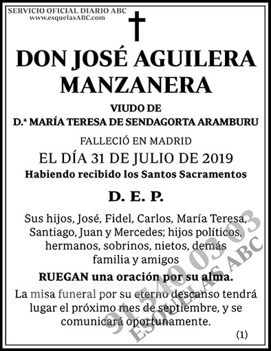 José Aguilera Manzanera