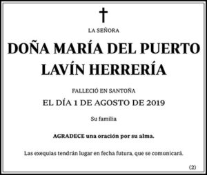 María del Puerto Lavín Herrería