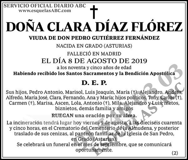 Clara Díaz Flórez