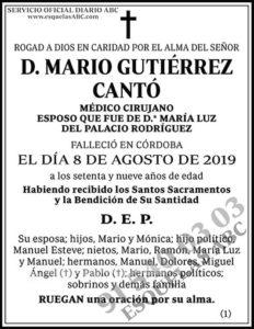 Mario Gutiérrez Cantó