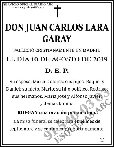 Juan Carlos Lara Garay