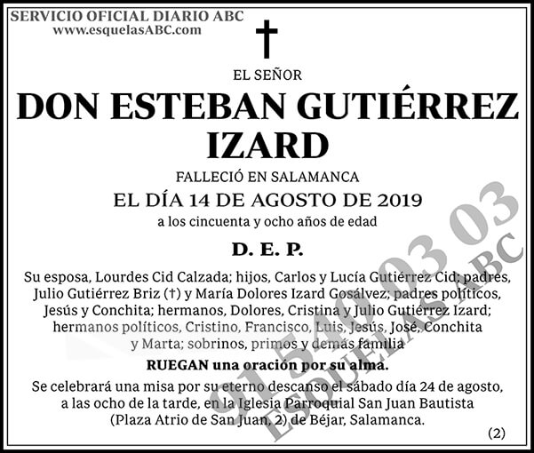 Esteban Gutiérrez Izard