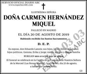 Carmen Hernández Miguel