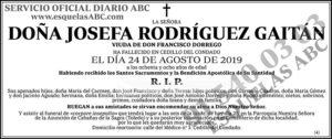 Josefa Rodríguez Gaitán
