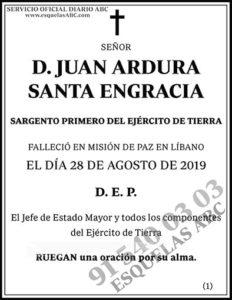Juan Ardura Santa Engracia