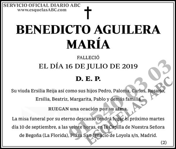 Benedicto Aguilera María