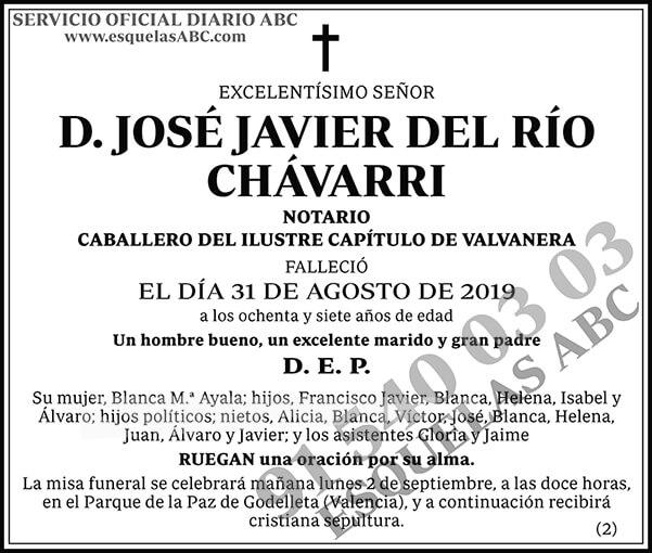 José Javier del Río Chávarri