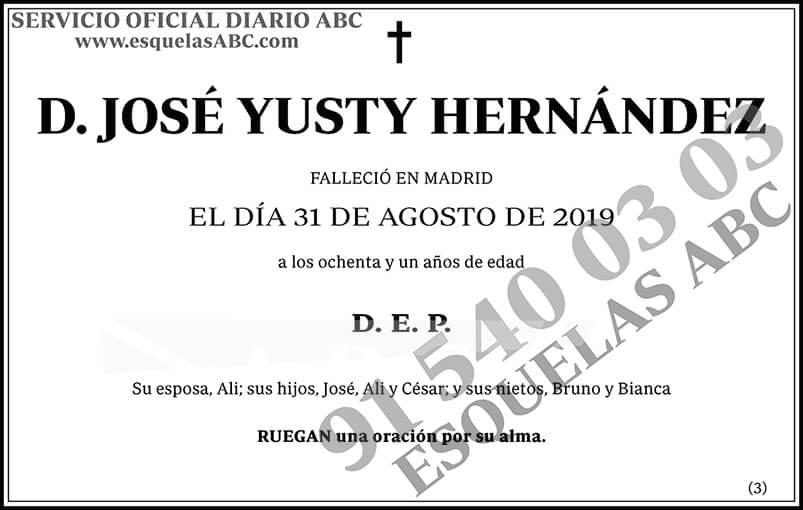 José Yusty Hernández