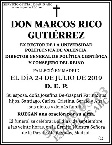 Marcos Rico Gutiérrez