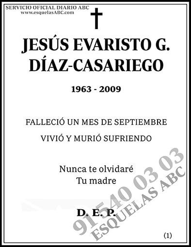 Jesús Evaristo G. Díaz-Casariego