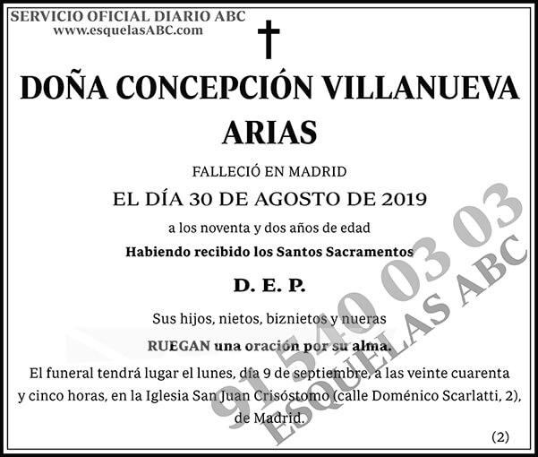 Concepción Villanueva Arias