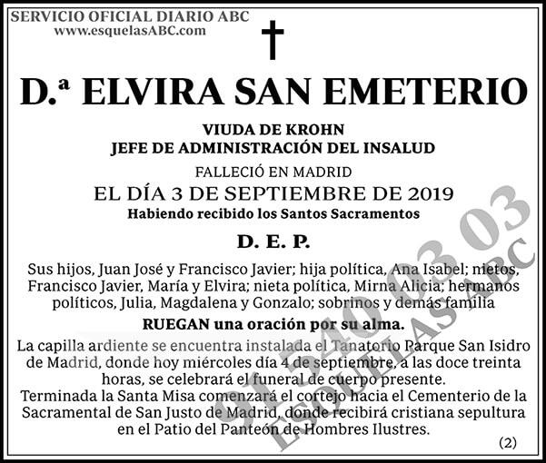Elvira San Emeterio
