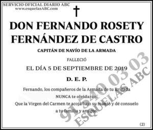 Fernando Rosety Fernández de Castro