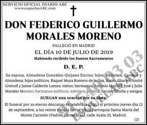 Federico Guillermo Morales Moreno