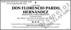 Florencio Pardo Hernández