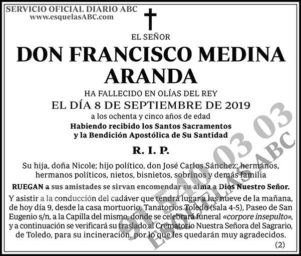 Francisco Medina Aranda
